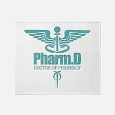 PharmD Throw Blanket