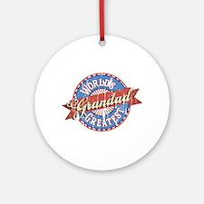 World's Greatest Grandad Ornament (Round)