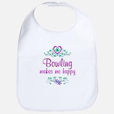 Bowling Happy Bib