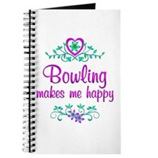 Bowling Happy Journal