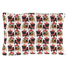 Cute Black pug lover Pillow Case