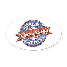 World's Greatest Grandaddy Oval Car Magnet