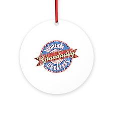 World's Greatest Grandaddy Ornament (Round)