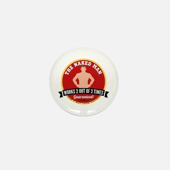 HIMYM Naked Man Mini Button