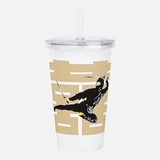 Ninja Samurai Acrylic Double-wall Tumbler
