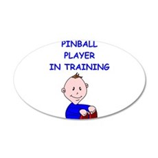 i love pinball Wall Decal