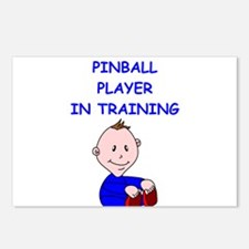 i love pinball Postcards (Package of 8)