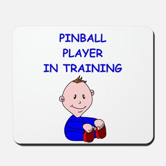 i love pinball Mousepad