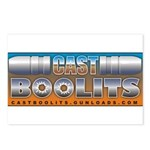 Cast Boolits Postcards (Package of 8)
