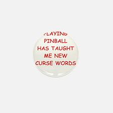 i love pinball Mini Button