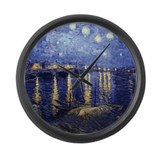 Starry night over the rhone Giant Clocks