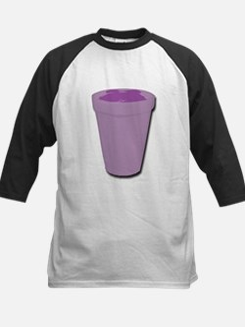 Purple cup Baseball Jersey