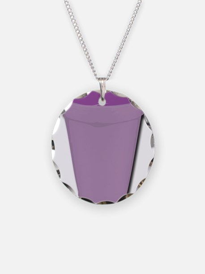 Purple cup Necklace