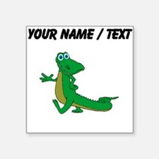Custom Cartoon Alligator Sticker