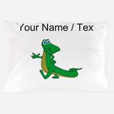 Custom Cartoon Alligator Pillow Case