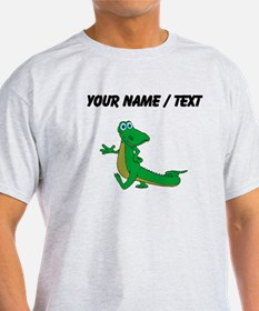 Custom Cartoon Alligator T-Shirt
