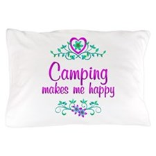 Camping Happy Pillow Case
