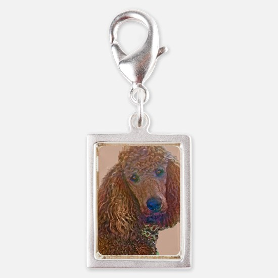 RED POODLE LOVE Charms