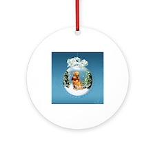Cute Inside Ornament (Round)