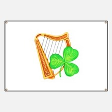Harp and Clover Banner