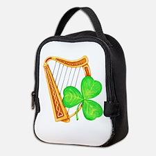 Harp and Clover Neoprene Lunch Bag