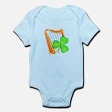 Harp and Clover Body Suit