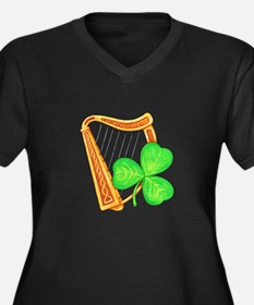 Harp and Clover Plus Size T-Shirt