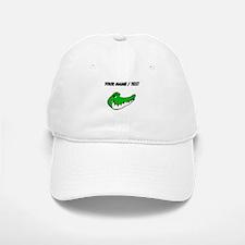 Custom Alligator Face Baseball Baseball Baseball Cap