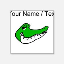 Custom Alligator Face Sticker