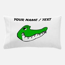 Custom Alligator Face Pillow Case