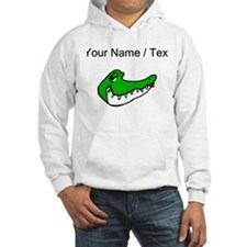 Custom Alligator Face Hoodie