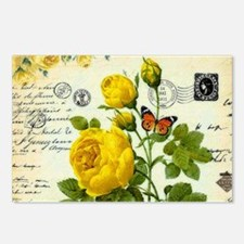 Funny Yellow Postcards (Package of 8)