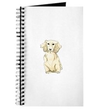 Longhaired English Cream Miniature Dachshu Journal