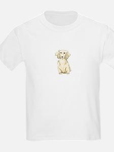 Longhaired English Cream Miniature Dachshu T-Shirt