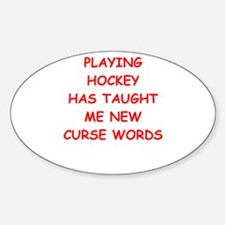 I Love Hockey Decal