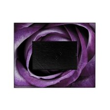 Purple Rose Decorative Flower Picture Frame