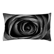 Black Rose Pillow Case