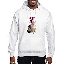 Uncle Sam Cat Hoodie