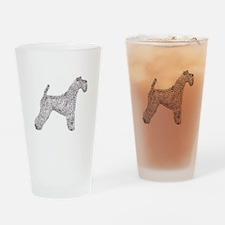 Kerry Blue Terrier Drinking Glass