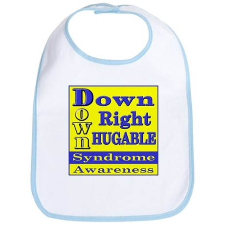 Down Right Hugable Bib