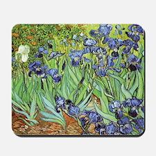 Irises by Vincent van Gogh Mousepad