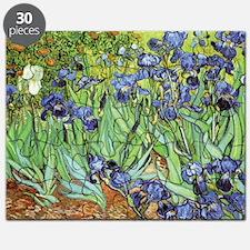 Irises by Vincent van Gogh Puzzle