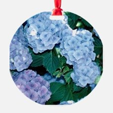 Blue Hydrangea Ornament