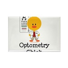 Cute Optometrist Rectangle Magnet