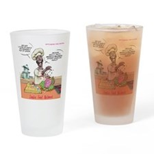 Zombie Food Network Drinking Glass