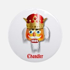 Customizable Nutcracker Ornament (Round)