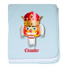 Customizable Nutcracker baby blanket
