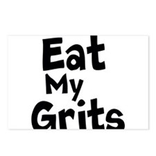 Eat My Grits Postcards (Package of 8)