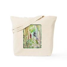 Forest Lemur Tote Bag