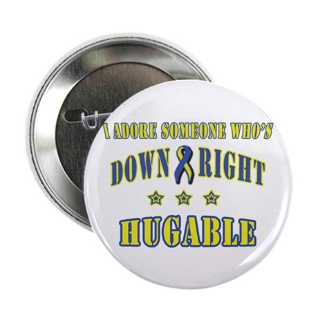 Down Right Hugable Button